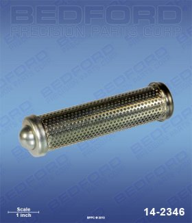 Outlet Filter Element with Ball - 50 Mesh