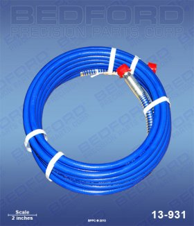 "25' x 1/4"" Airless Hose Assembly"