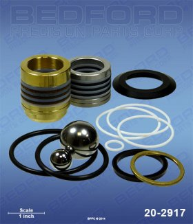 Graco 249123 Pump Repair Kit Replacement | Bedford 20-2917