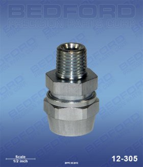 "5/16"" Hose Fitting x 1/4"" NPT(m)"