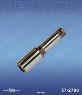 Titan 704-551 Bedford 57-2700 Piston Rod (rod only)