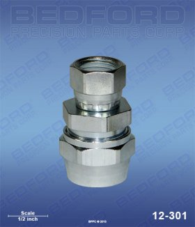"5/16"" Hose Fitting x 1/4"" NPS(f)"
