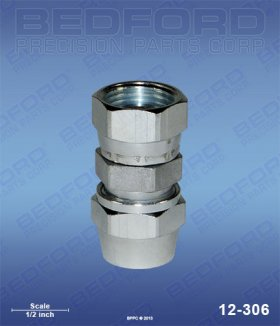 "1/4"" Hose Fitting x 3/8"" NPS(f)"
